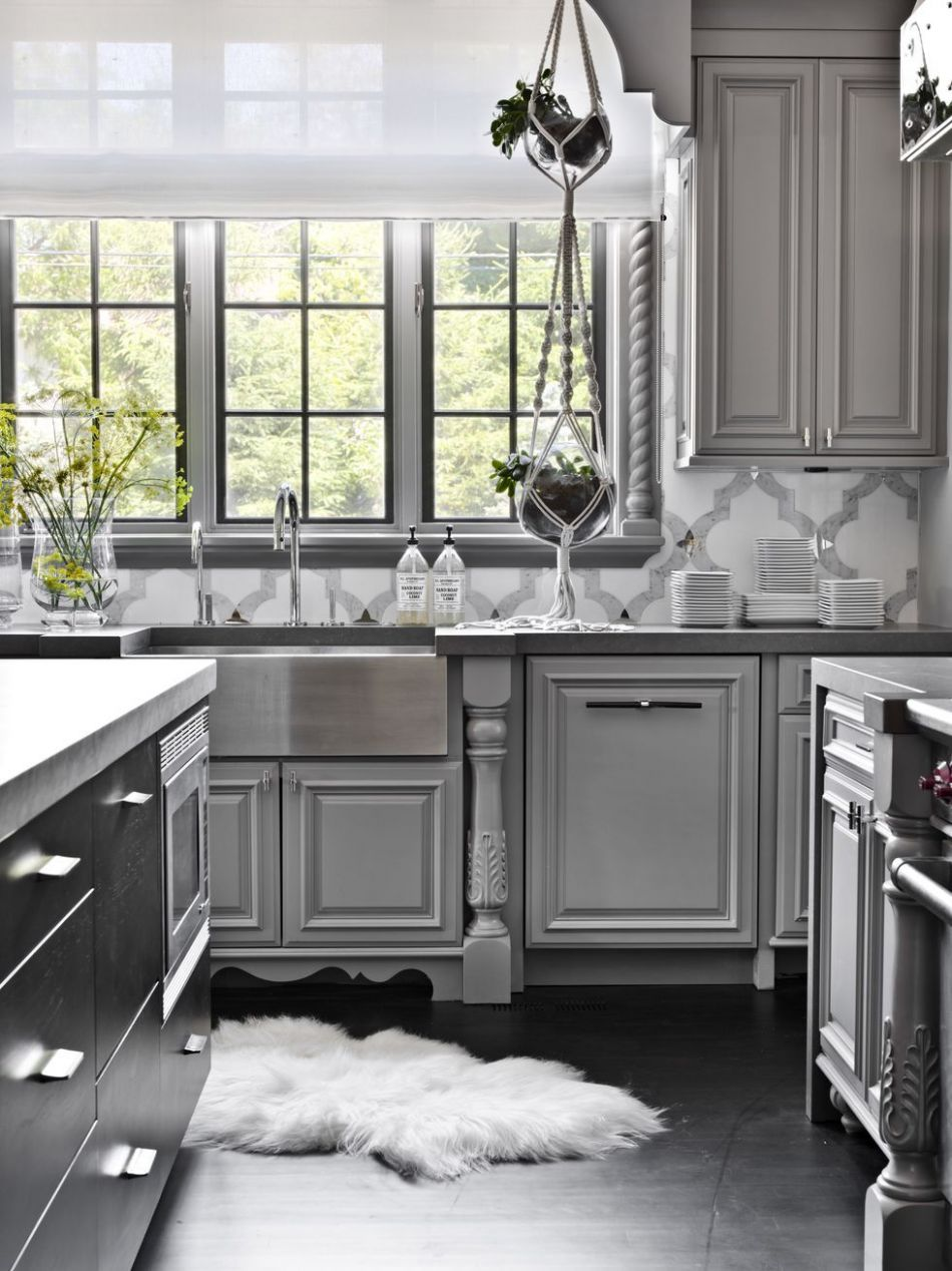 11 Best Gray Kitchen Ideas - Photos of Modern Gray Kitchen ..