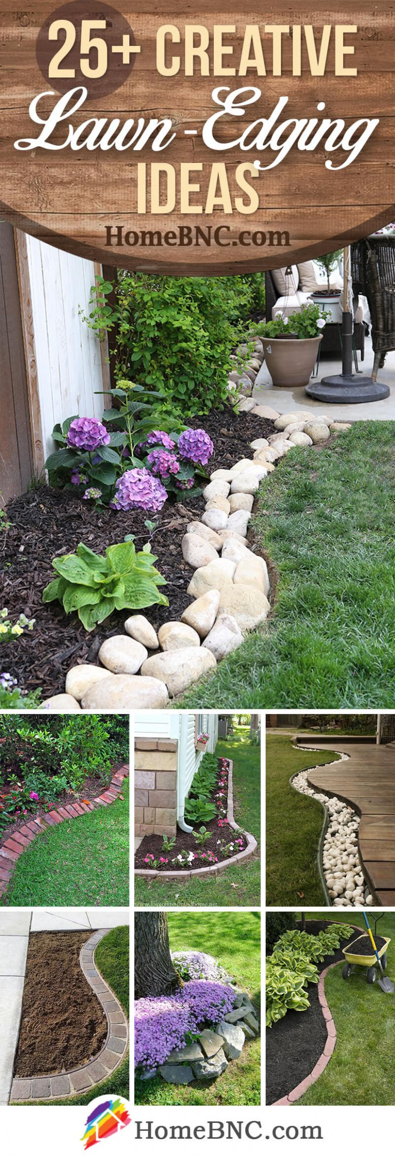 11+ Best Lawn-Edging Ideas and Designs for 11