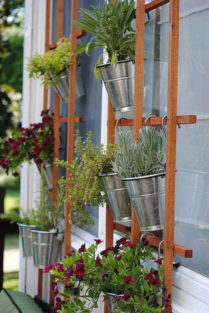 11 Best Outdoor Hanging Planter Ideas and Designs for 11 - garden ideas hanging baskets