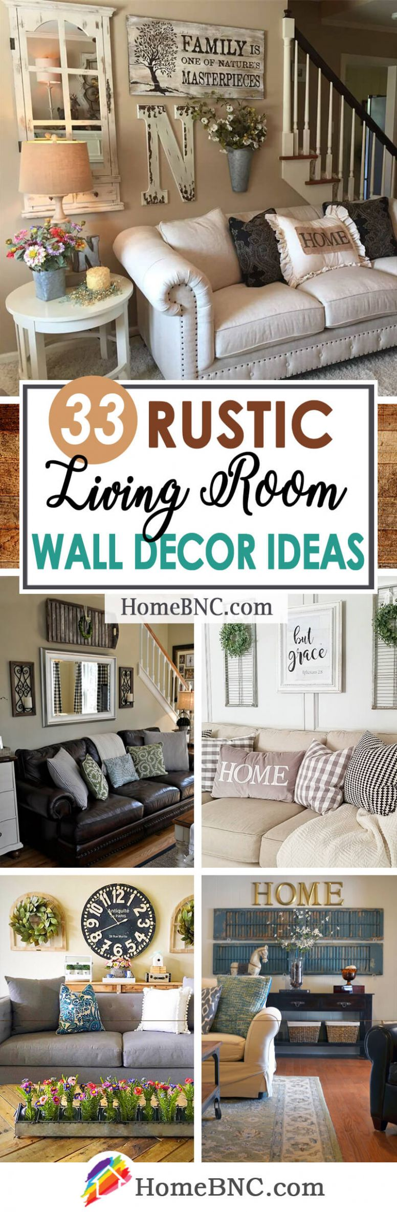 11 Best Rustic Living Room Wall Decor Ideas and Designs for 11 - wall decor ideas for family room