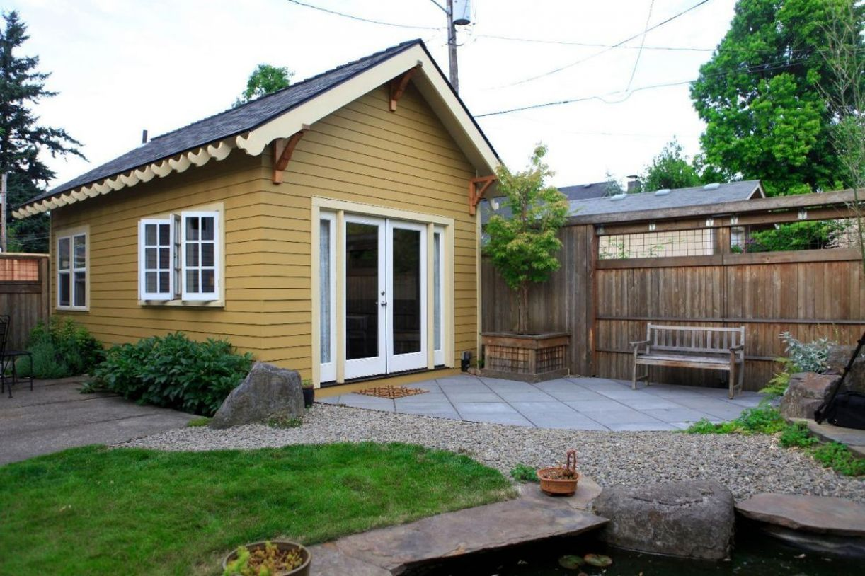 11 Best Small Front Yard for Tiny House   Backyard cottage ..