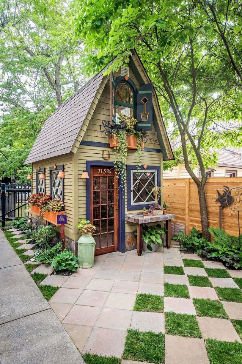 11 Best Small Front Yard for Tiny House   Small cottage garden ..