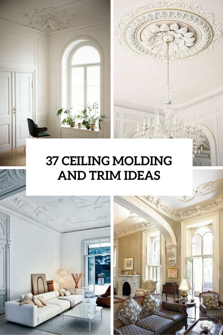11 Ceiling Trim And Molding Ideas To Bring Vintage Chic - Shelterness - dining room trim ideas