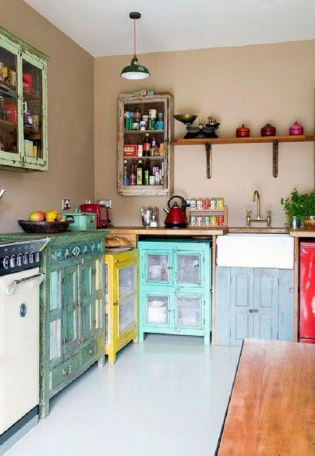 11 Charming Bohemian Kitchen Design Ideas To Comfortable Cooking ...