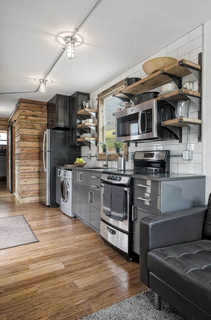 11 Clever Tiny House Kitchen Ideas (Photos)