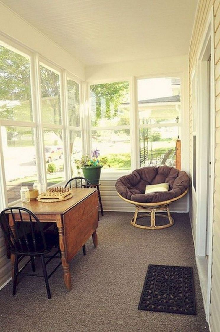 11+ Comfy Farmhouse Sunroom Makeover Decor Ideas | Sunroom ..
