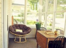 11 Comfy Farmhouse Sunroom Makeover Ideas (With images) | Sunroom ...