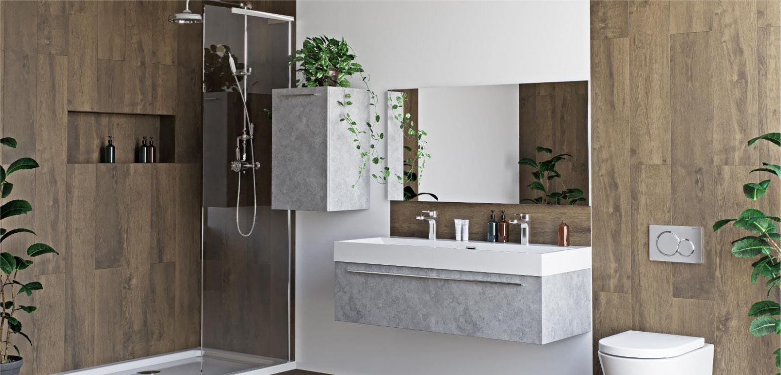11 contemporary bathroom ideas for 11 and beyond | VictoriaPlum.com