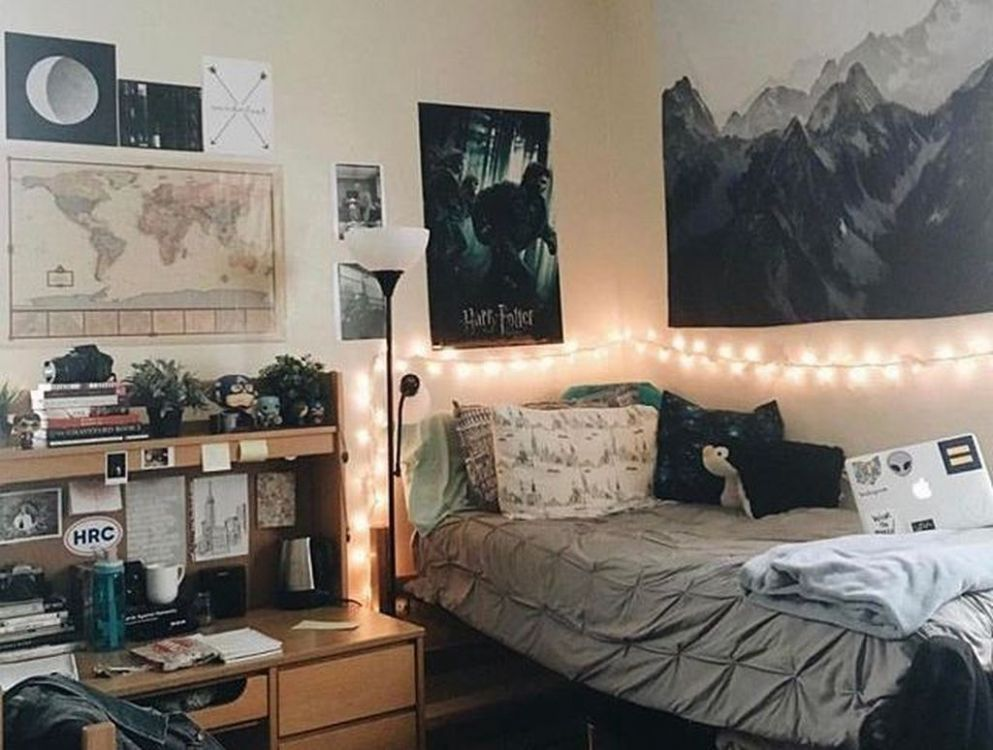 11 Cool College Apartment Decorating Ideas | Cool dorm rooms, Guy ..