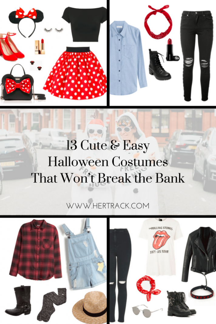 11 Cute & Easy Halloween Costumes That Won't Break the Bank (With ...