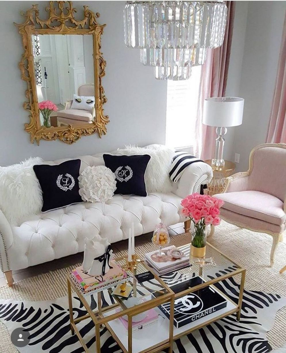 11 Cute Girly Apartment Décor Ideas in 11 | Girly apartment ..