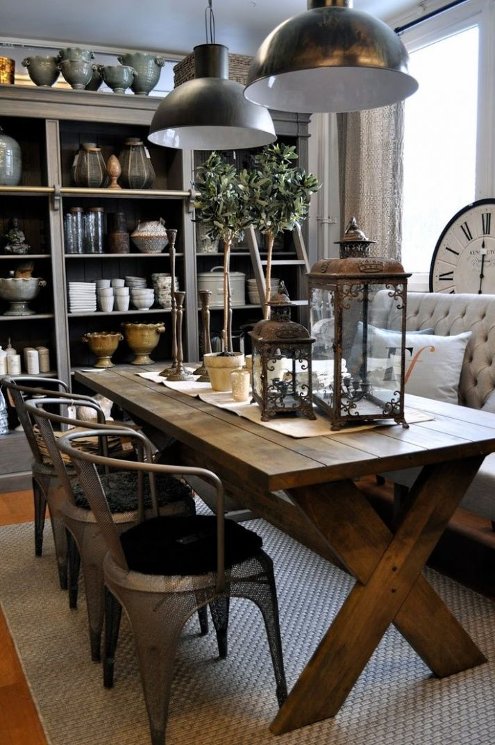 11 Dining Room Storage Ideas | Dining room industrial, Dining room ..