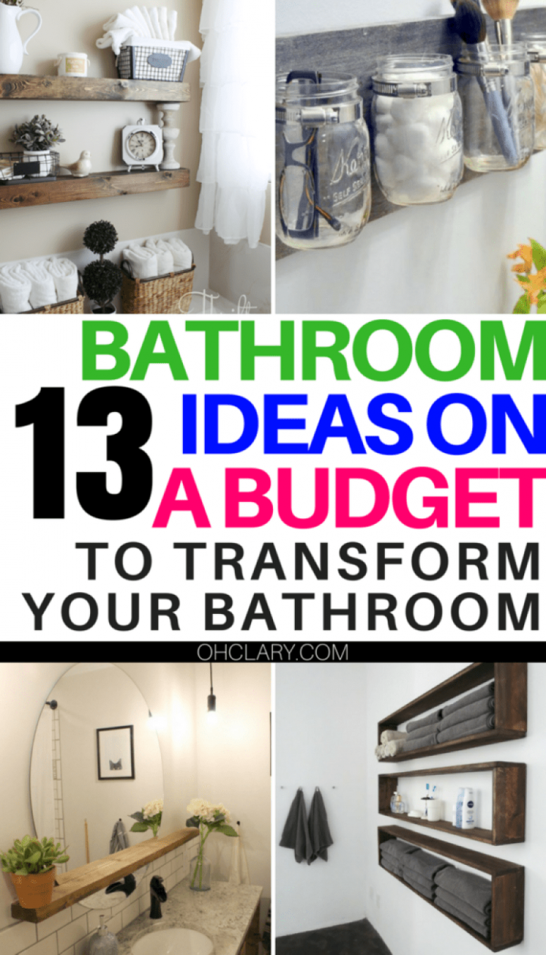 11 DIY Bathroom Decor Ideas On a Budget You Can't Afford to Miss ...