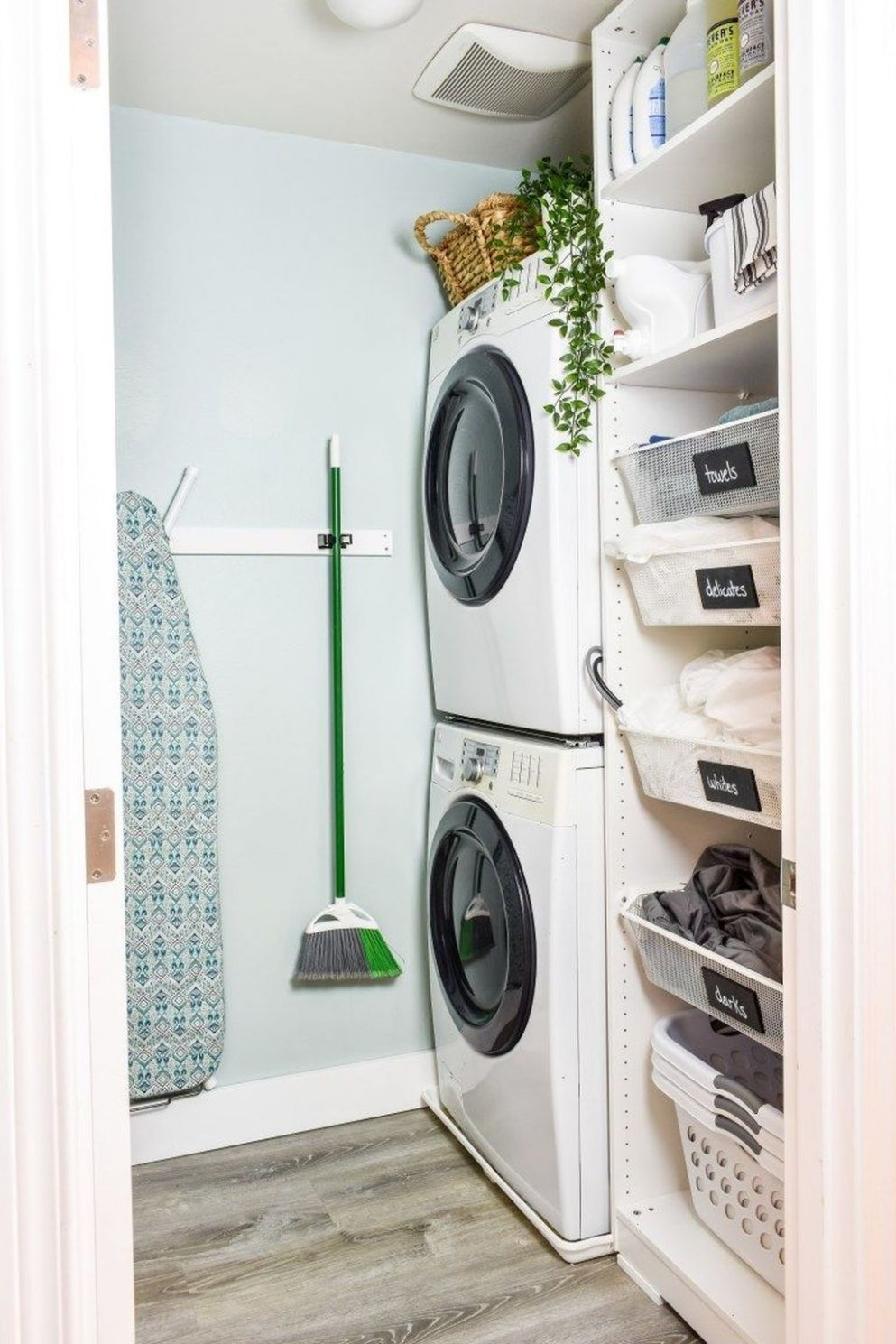 11+ Fascinating Small Laundry Room Design Ideas | Small laundry ..