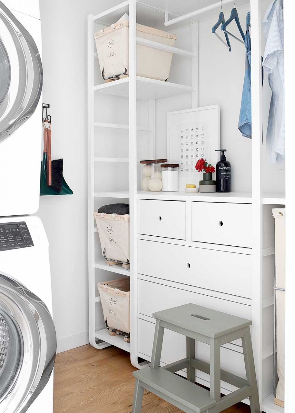 11 Favorite Laundry Rooms with Storage Ideas to Steal - laundry room ideas ikea
