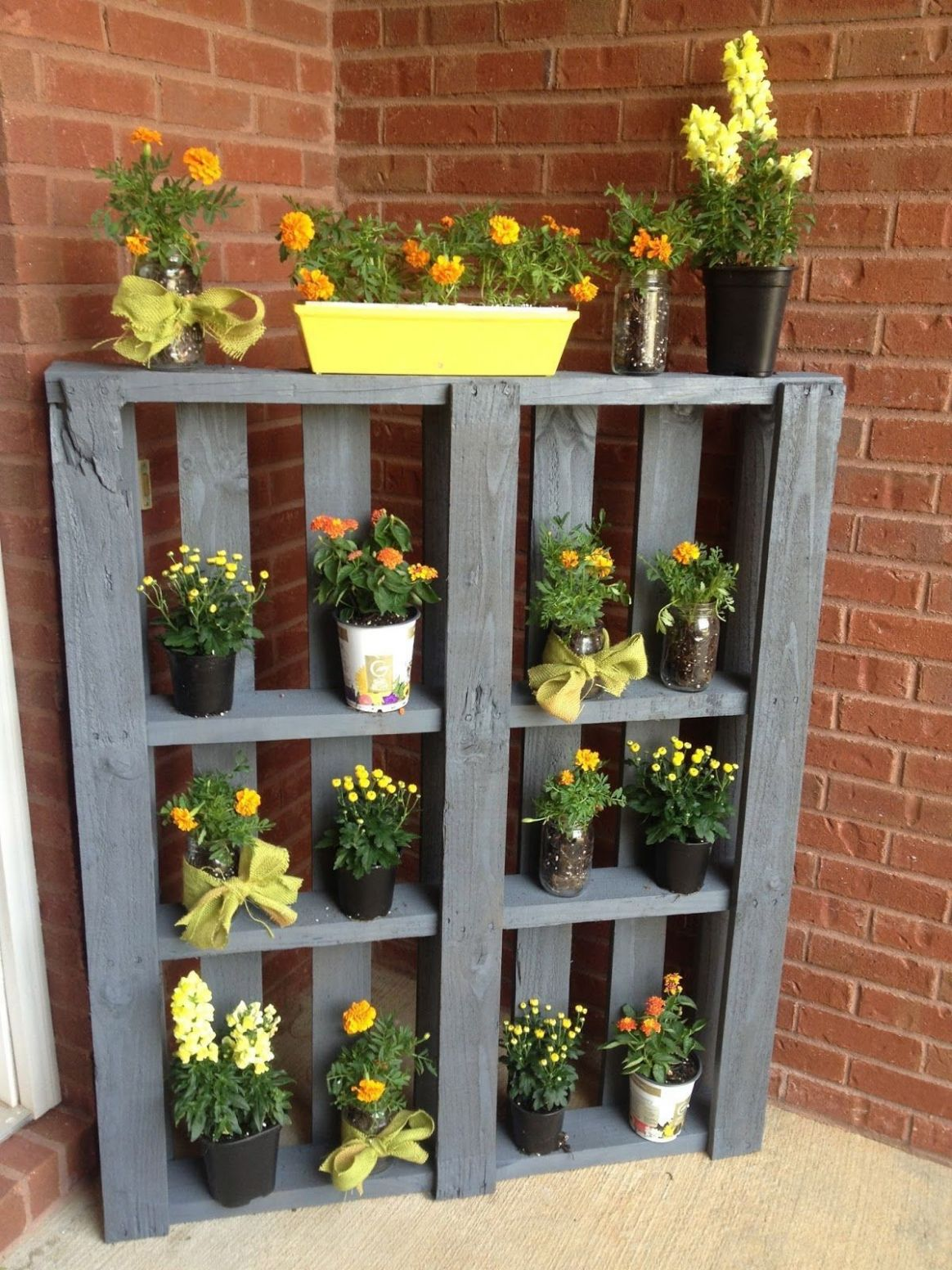 11 Garden Ideas With Pallets, Most Brilliant as well as Stunning ...