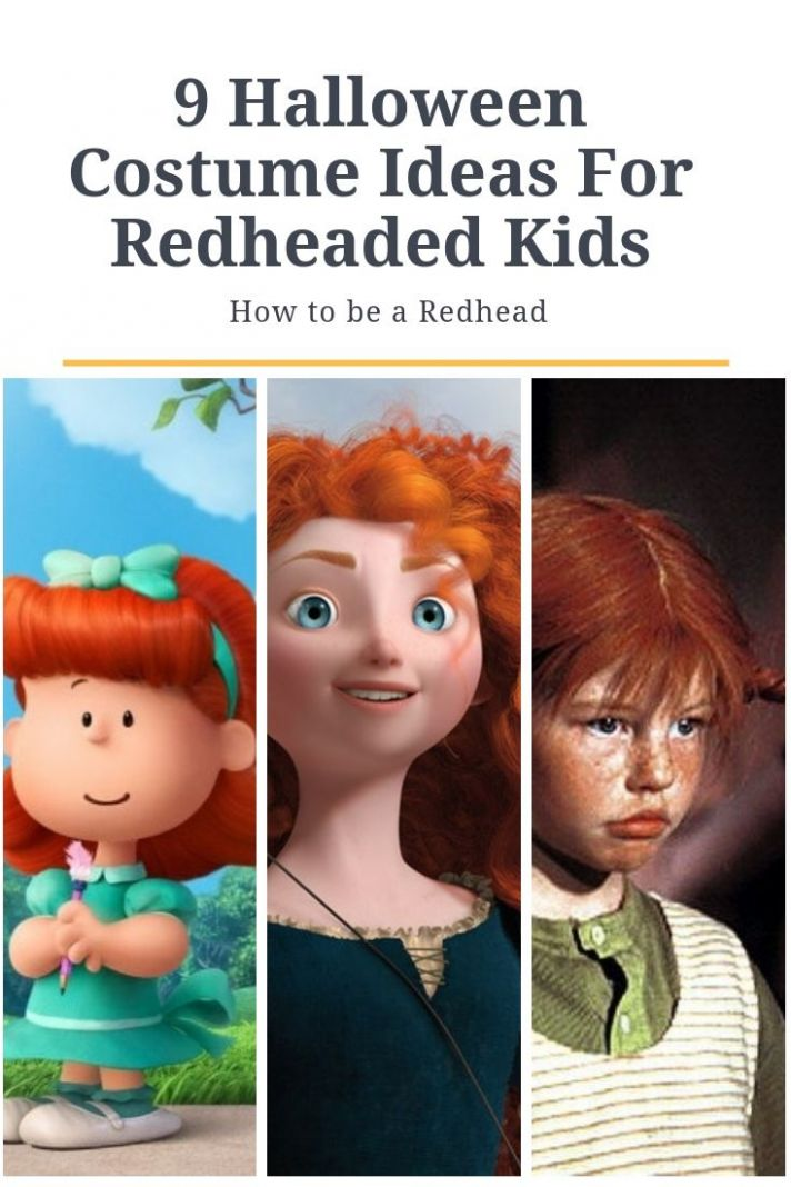 11 Halloween Costume Ideas For Redheaded Kids | Redhead costume ..