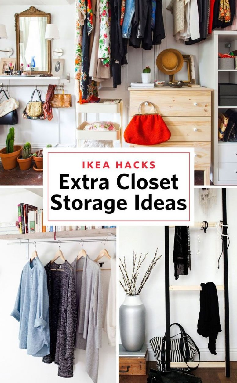 11 IKEA Storage Hacks for When You Need an Extra Closet (With ..