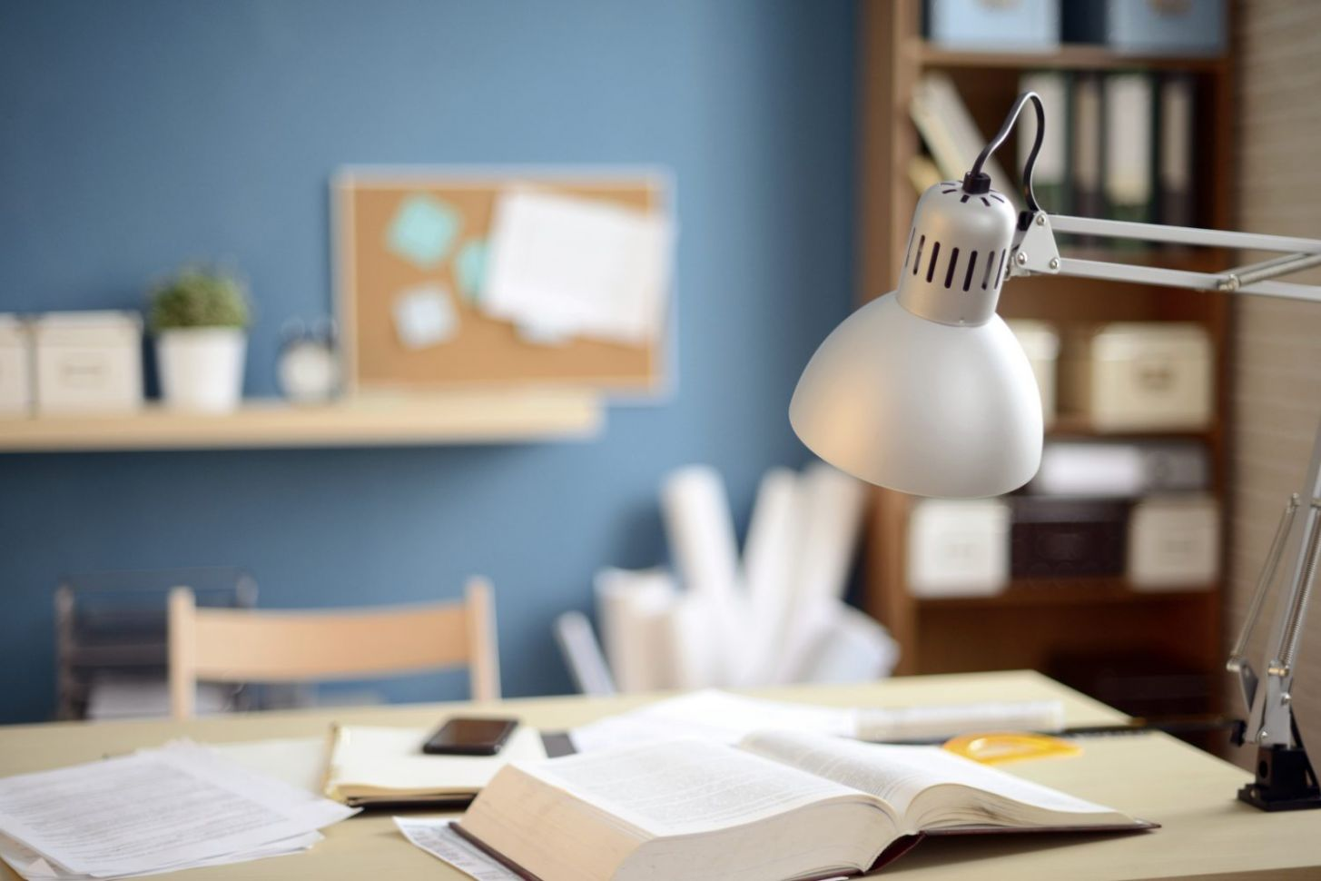 11 Inspiring Home Office Paint Color Ideas - Home Office Warrior