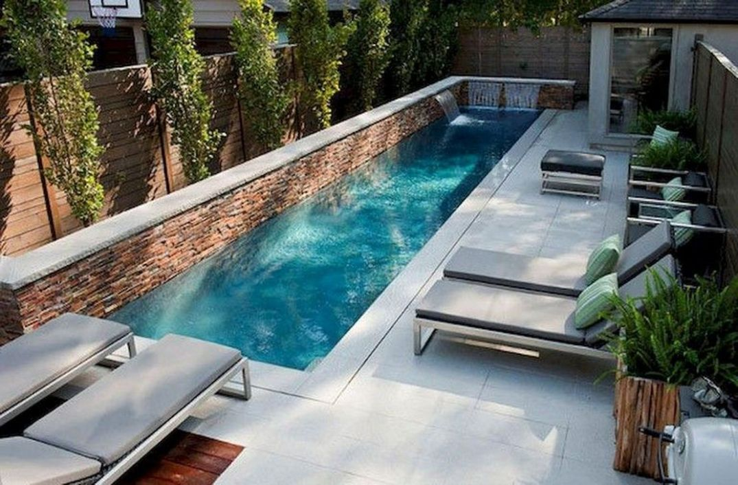 11 Inspiring Small Swimming Pool Ideas For Small Backyard - SearcHomee - pool update ideas