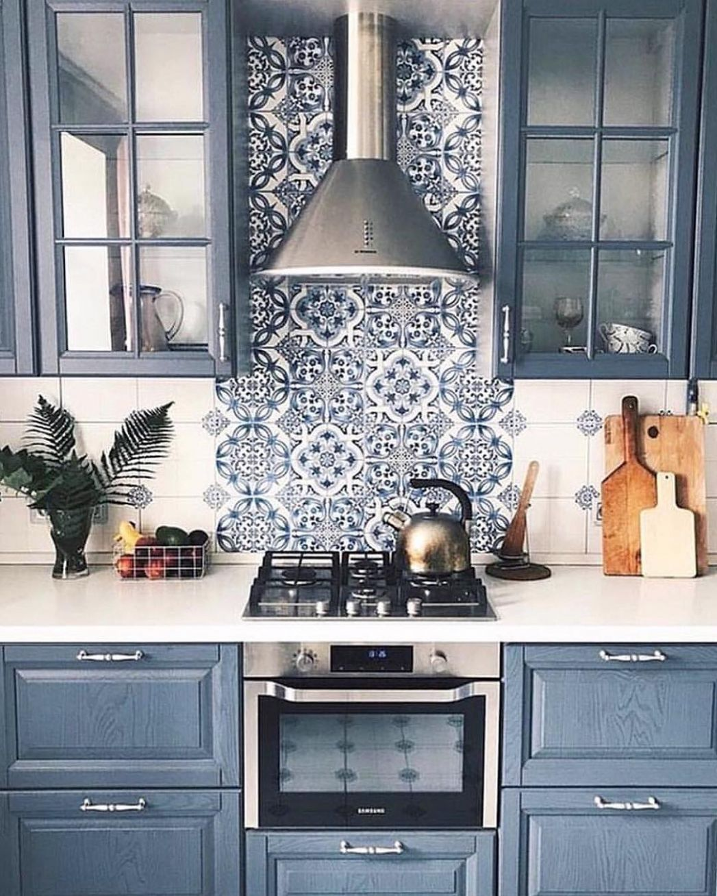 11 Inviting Blue Kitchen Cabinets to Have