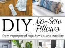 11 Items You Can Repurpose Into DIY Throw Pillows (With images ...