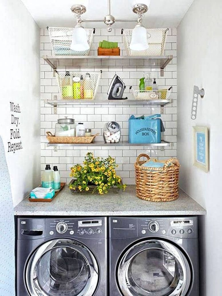 11 Laundry Room Designs to Make Laundry Days Easier | Décor Outline - laundry room alcove ideas