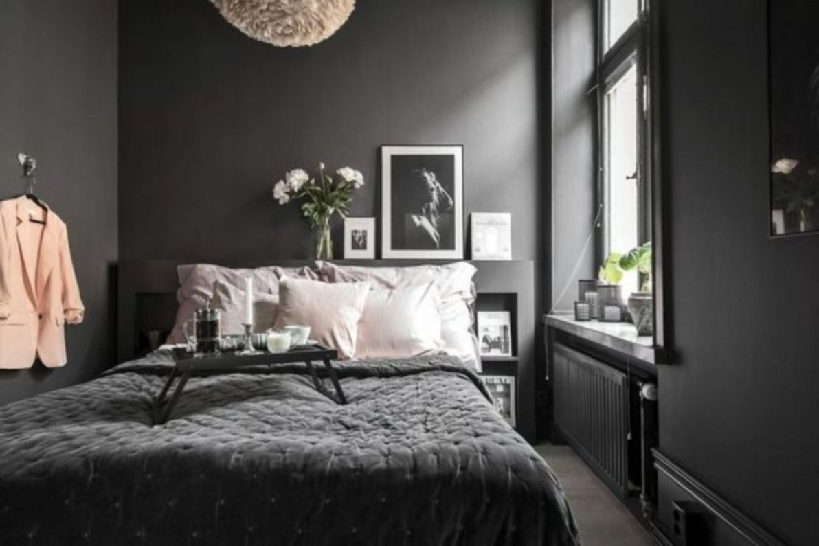 11 Lovely Colorful Modern Bedroom Decor Ideas (With images) | Grey ...