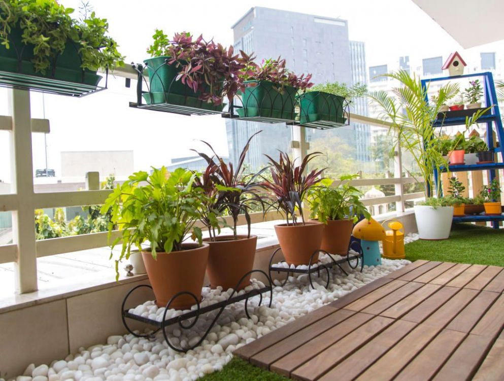 11 low budget renovation ideas for terrace | Patio garden design ..
