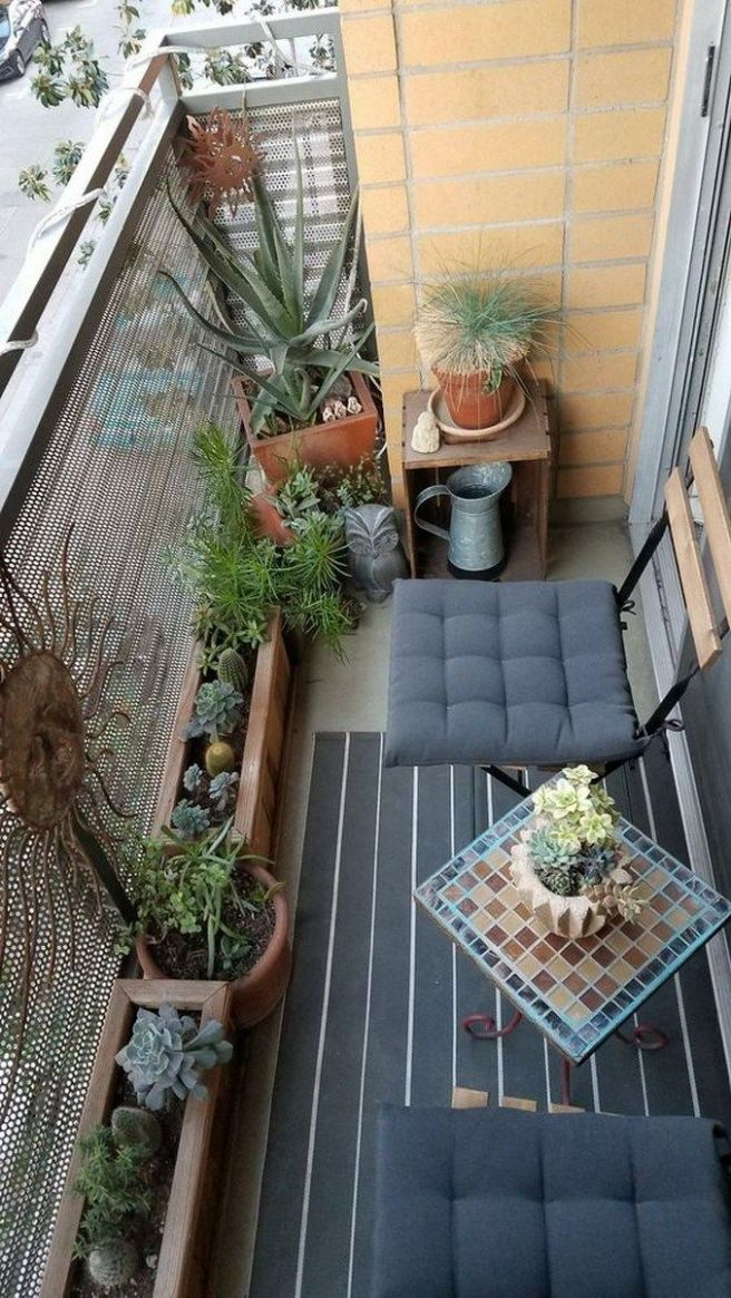 11 low budget small apartment balcony ideas 11 (With images ..