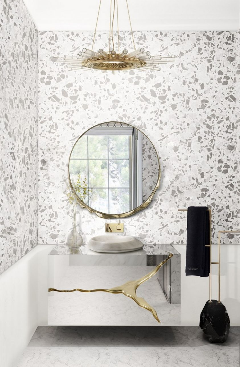 11 Luxury Bathroom Ideas That Are In The CovetED Magazine 11 Selectio - bathroom ideas magazine