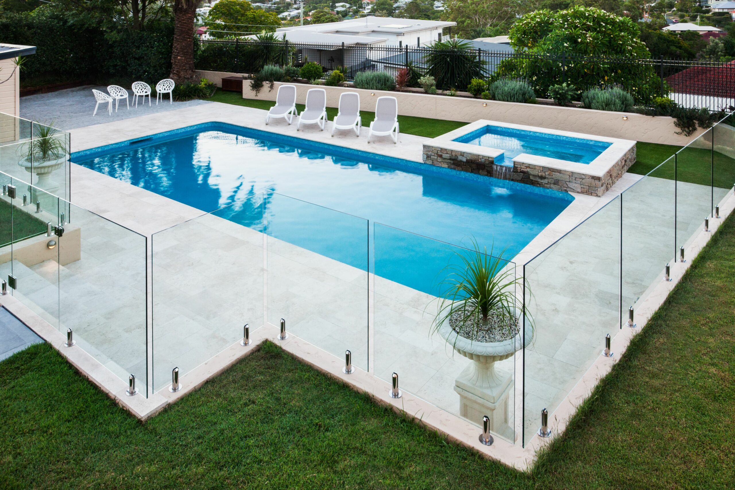 11 Pool Fence Ideas That Will Upgrade Your Yard - pool upgrade ideas