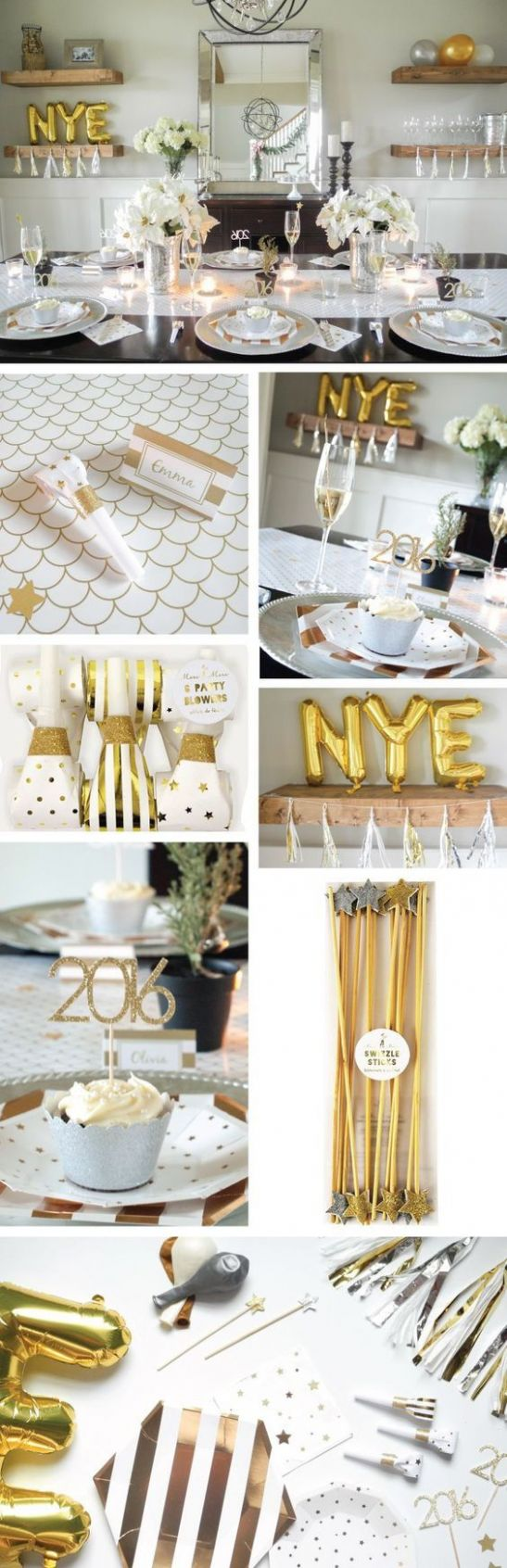 11 Popping DIY Home Decoration Ideas for New Year Party - Ezyshine ..