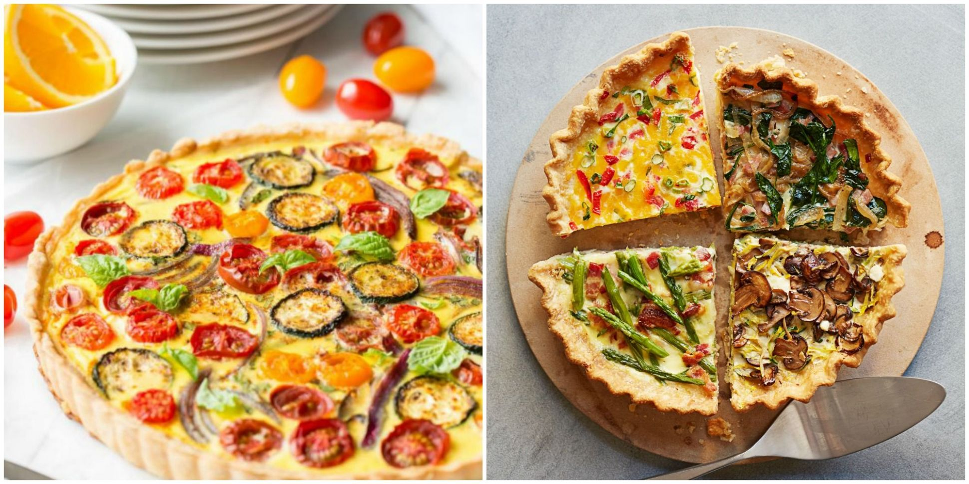 11 Quiches That Will Elevate Your Brunch Game - Quiche Recipes - halloween quiche ideas