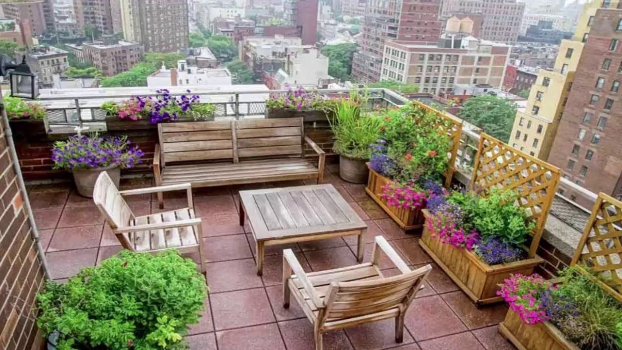 11+ Roof Terrace Design Ideas - Roof gardens & roof terraces - Modern  architecture - garden ideas on terrace