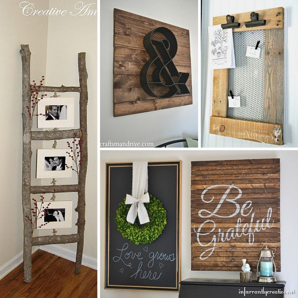 11 Rustic DIY Home Decor Projects   Refresh Restyle