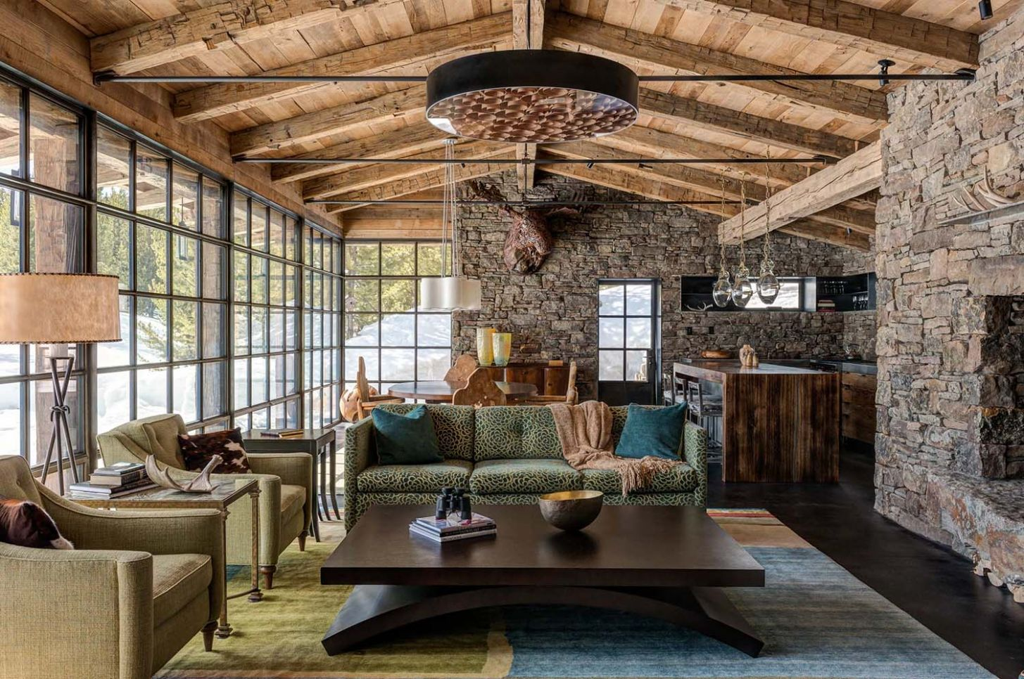 11 Rustic Home Decor Ideas for Your Living Room - home decor rustic