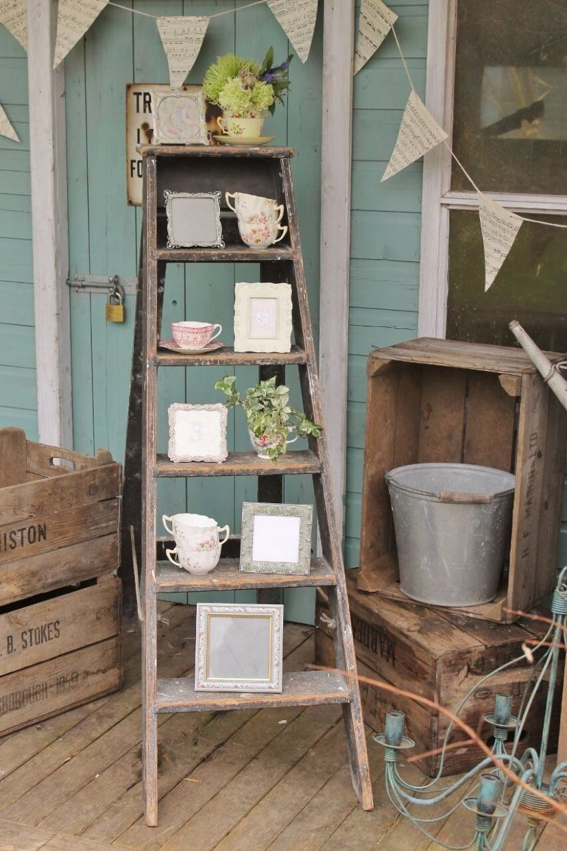 11+ Rustic Vintage Front Porch Decor Ideas On A Budget For Your ...