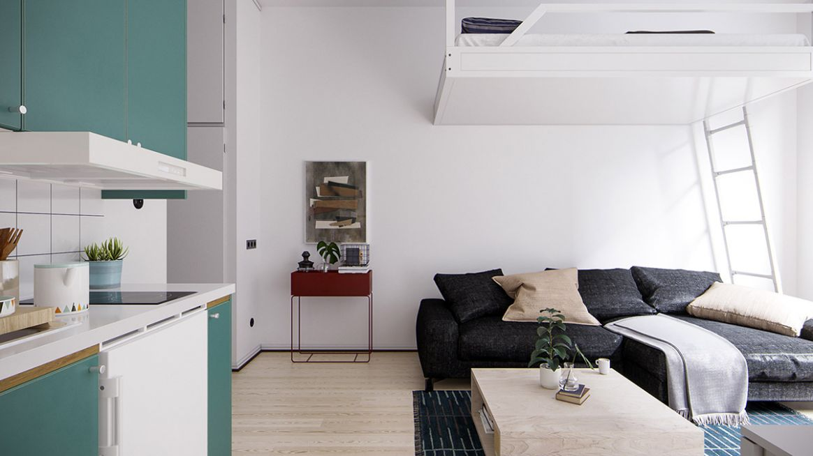11 Small Space Apartments That Use Clever Ways To Maximize Space