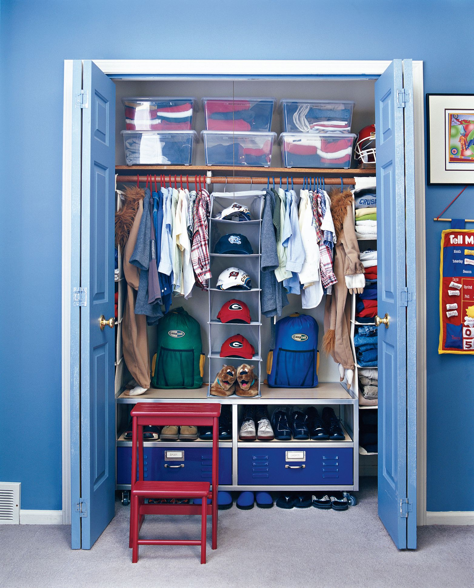 11 Smart Ways to Organize Your Kid's Closet | Real Simple