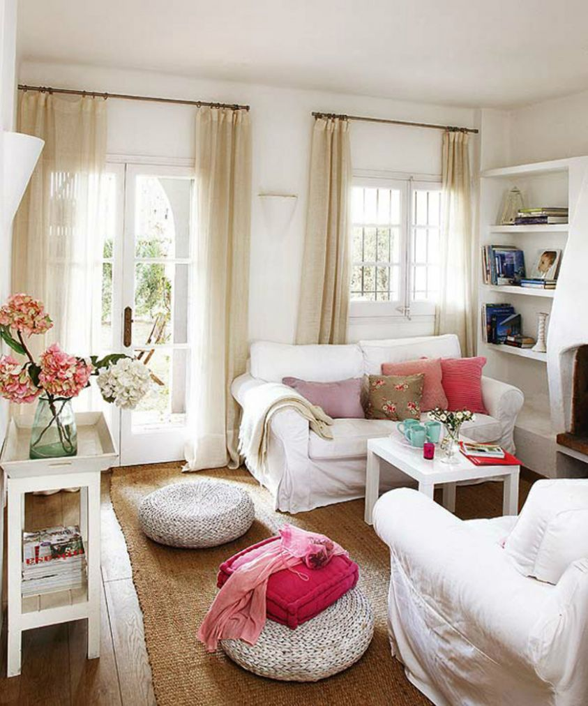 11 Sneaky Styling Tricks for a Small Living Room - living room ideas cozy