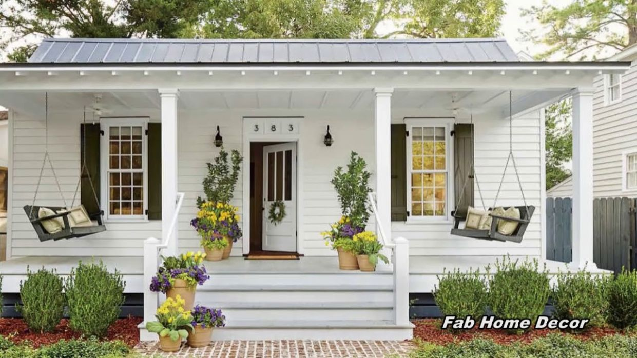 11 Spring Front Porch Ideas 11 - front porch designs pictures