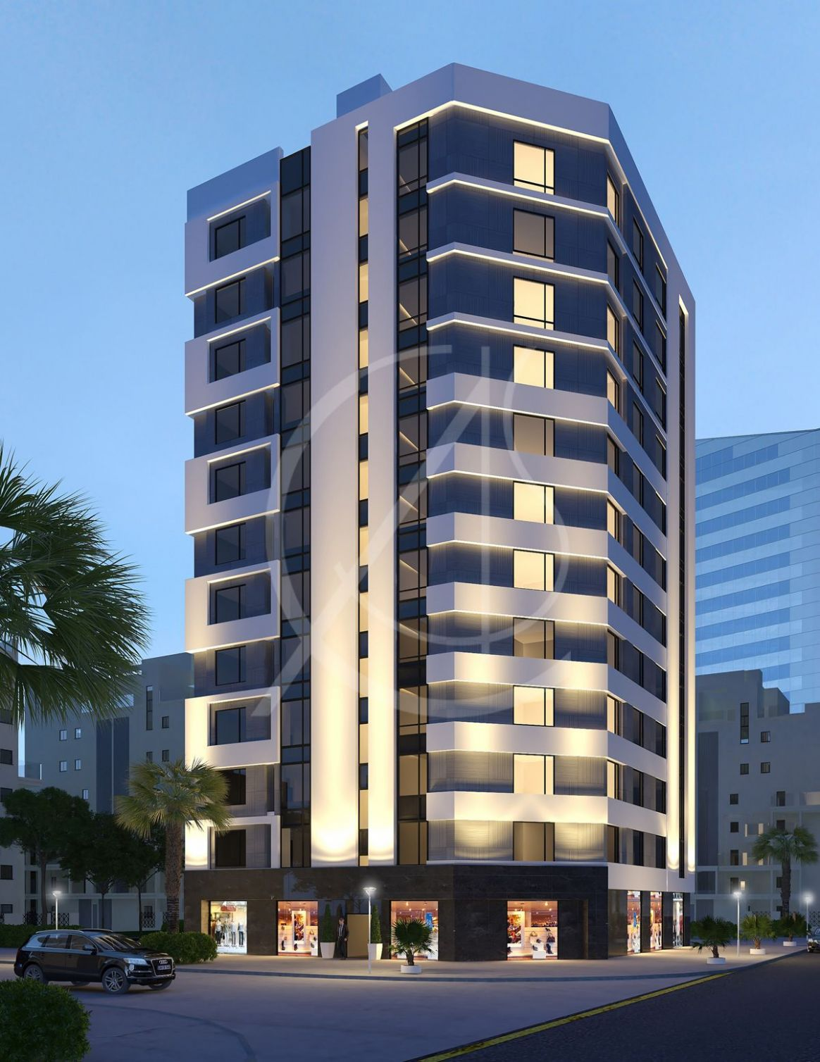 11 Story Modern Apartment Exterior Design (With images ..
