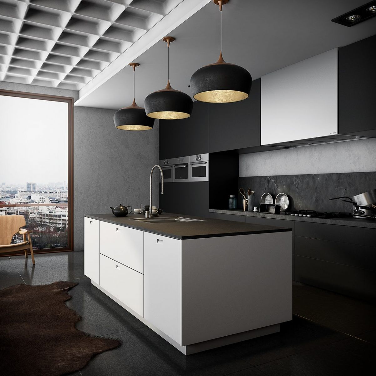 11 Stunning Black Kitchens That Tempt You To Go Dark For Your Next ...