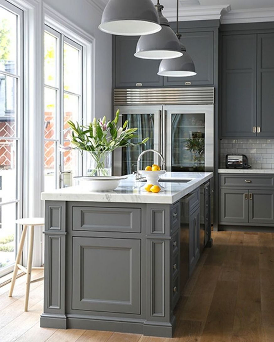 11 Stunning Gray Kitchens (With images) | Kitchen design, Kitchen ..