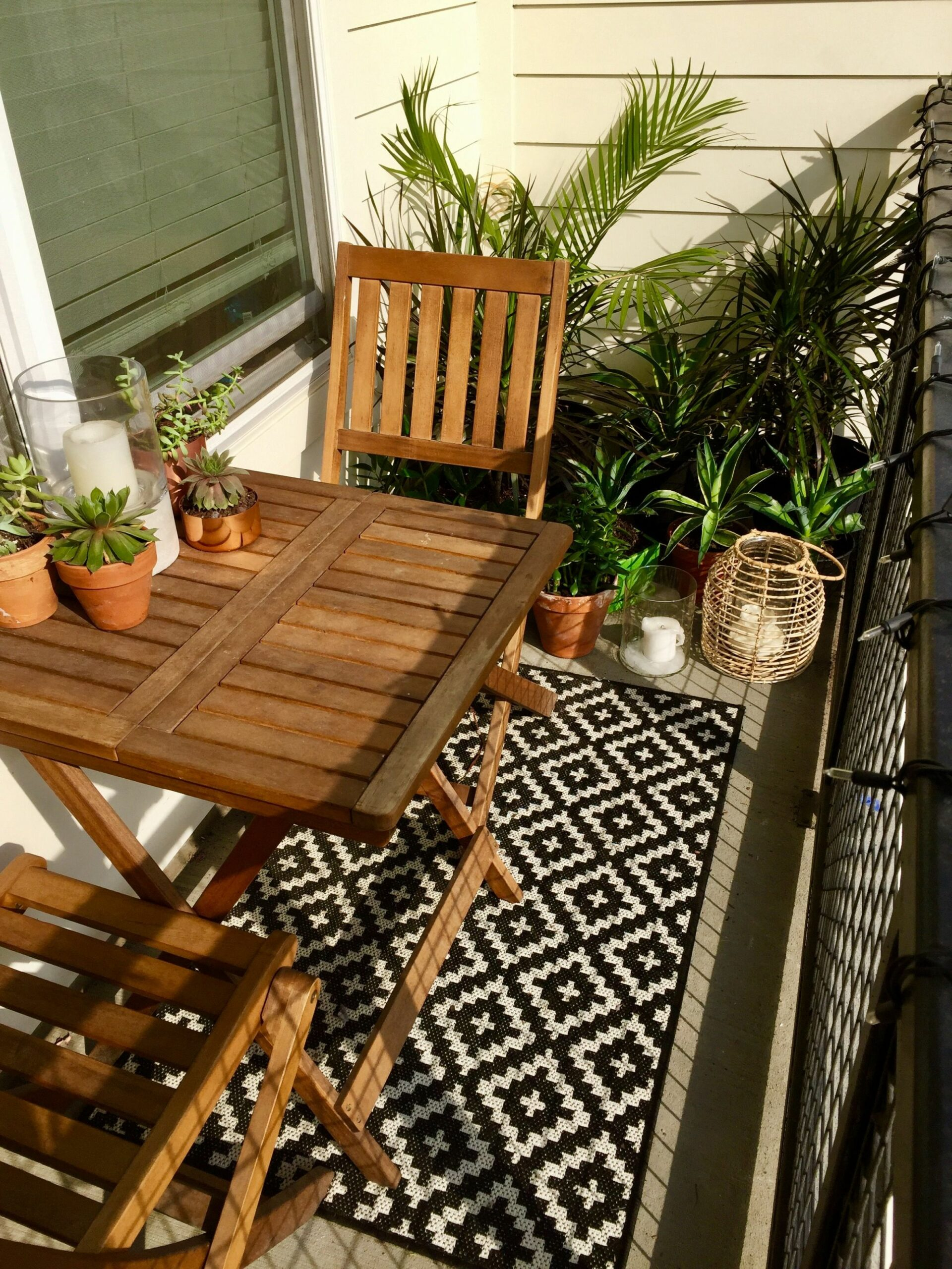 11 Summer Small Patio Ideas For You (With images) | Apartment ..