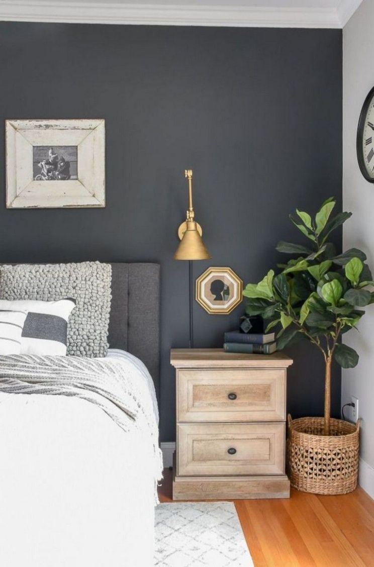 11+ The Best Dark Grey Wall Paint Color Ideas For Your Bedroom ..