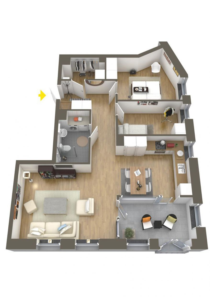 [11+] Totally Inspiring Apartment Layout Architecture That Everyone ...