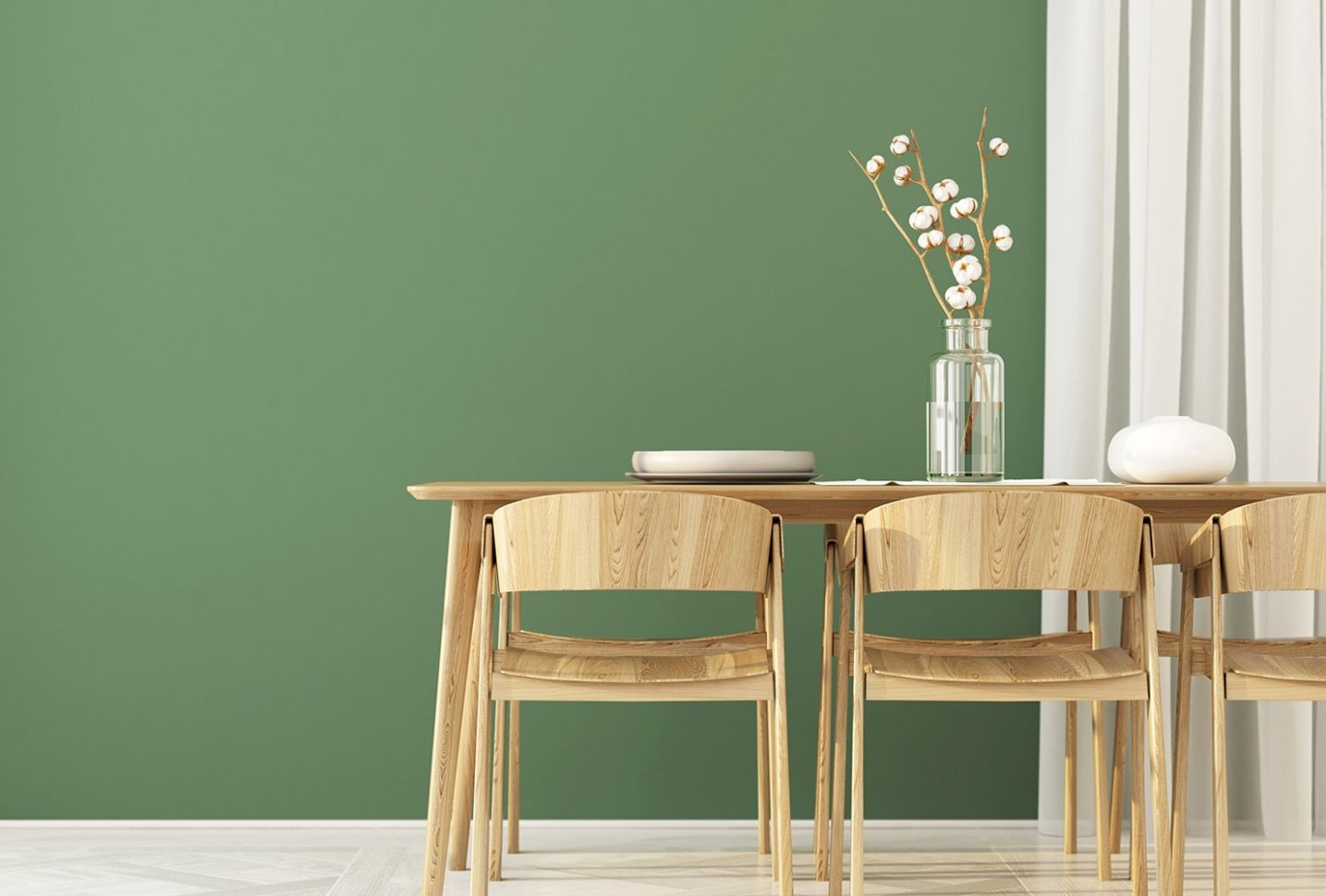 11 Trendy Dining Room Wall Colors to Transform Your Space | Shutterfly - dining room ideas green