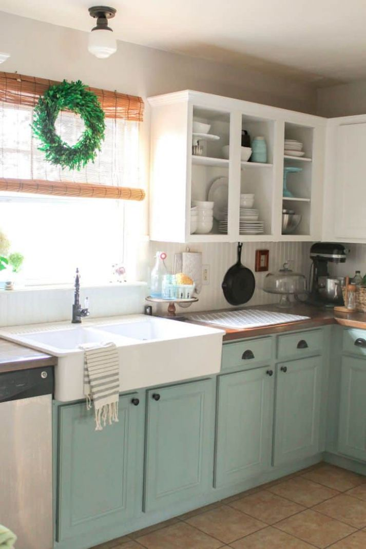 11 Two-Tone Kitchen Cabinets To Reinspire Your Favorite Spot In ..